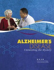 ALZHEIMER'S DISEASE Unraveling the Mystery - Brown County