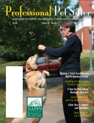 Winter 2010 - National Association of Professional Pet Sitters