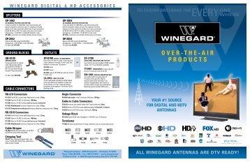 TELEVISION ANTENNAS FOR - Winegard