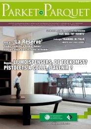 Project 'La réserve' - Magazines Construction