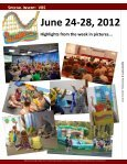July 18: Cover Story - VBS in Pictures - Fairmount Christian Church - Page 3
