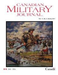 JOURNAL CA - Revue militaire canadienne