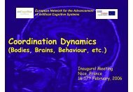 The Coordination Dynamics of Brains and Behavior