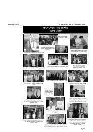 Volume 12 Issue 2 December 2010 - Rehabilitation Studies Unit