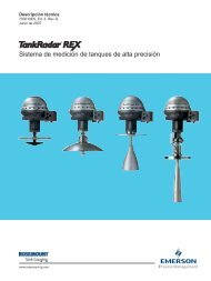 TankRadar Rex - Rosemount TankRadar