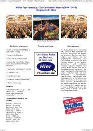 Müller Tagespartyzug - Zur Cannstatter Wasen (2009 ... - ebuchen.de