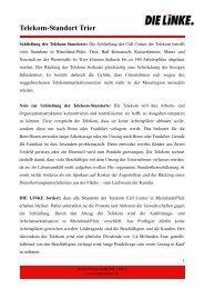 Telekom-Standort Trier - Katrin Werner