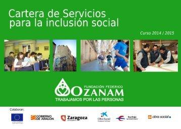 Cartera servicios 2014-15
