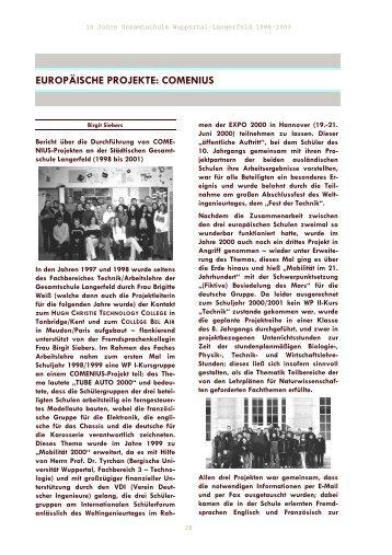 comenius - Gesamtschule Wuppertal-Langerfeld