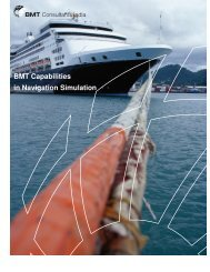BMT Capabilities in Navigation Simulation - BMT Group