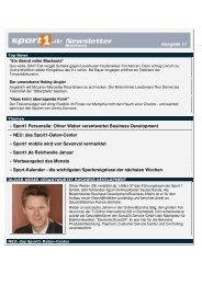 Oliver Weber verantwortet Business Development - Sport1