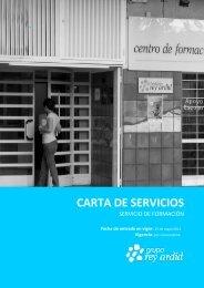 CARTA DE SERVICIOS - Fundación Rey Ardid
