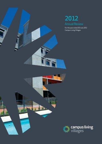 2012 Annual Review - Campus Living Villages