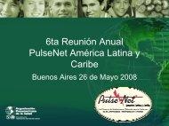 6ta Reunión Annual PulseNet América Latina y Caribe