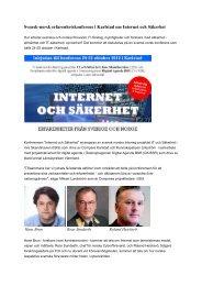 vedlegget. - Interreg Sverige Norge