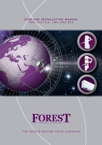 stap voor stap assembleren - Forest Group