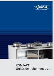 KOMPAKT Unités de traitement d'air - Wesco