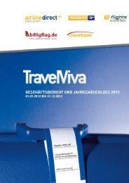 Jahresabschluss der Travel Viva AG für das Geschäftsjahr 2012