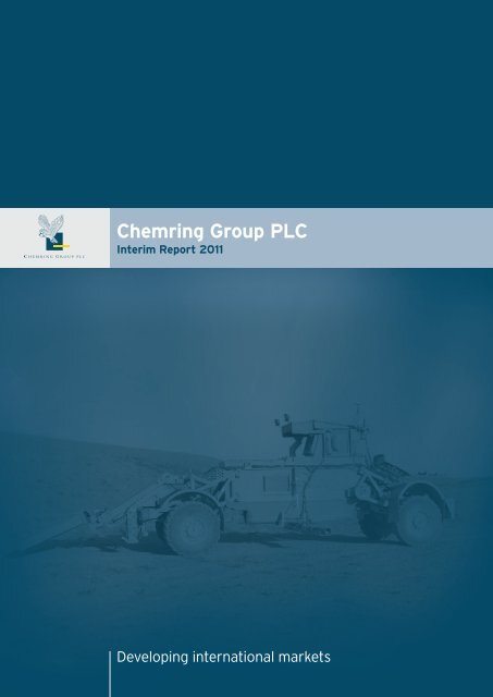 Interim Management Report - Chemring Group PLC