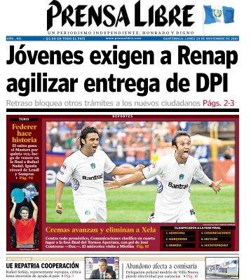 Retraso bloquea otros trámites a los nuevos ... - Prensa Libre