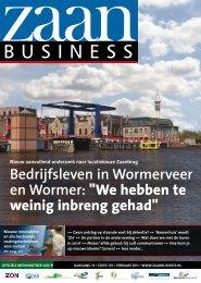Bedrijfsleven in Wormerveer en Wormer: