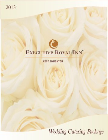 Wedding Packages - Executive Hotels and Resorts
