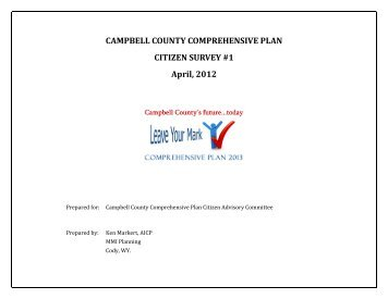 Issues Identification Survey Results - Campbell County