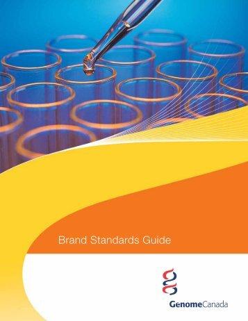 Brand Standards Guide - Genome Canada