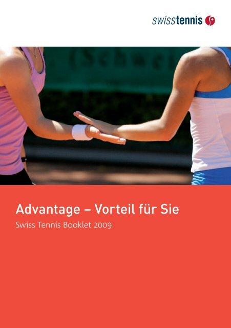 Ihre Meinung interessiert uns - Swiss Tennis