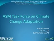 Dr Salmah Zakaria FASc., Chair of ASM Climate Change and Water ...