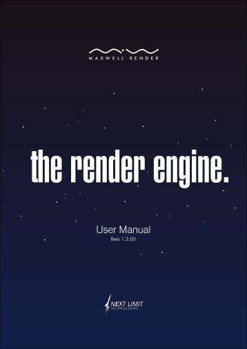 Maxwell Render User Manual - flexiCAD.com