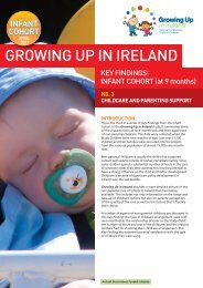 Childcare And Parenting Support - Growing Up in Ireland