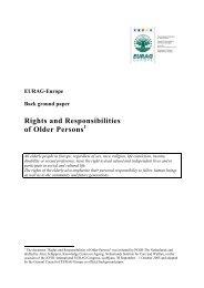 Rights and Responsibilities of Older Persons - AAGI-ID Associação ...