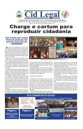Charge e cartum para reproduzir cidadania - Prefeitura Municipal de ...