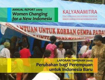 LAPORAN TAHUNAN 2009 Perubahan bagi ... - Kalyanamitra