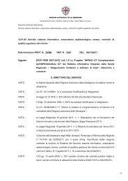 INFRAS ICT - Determina a contrarre - Sardegna Salute