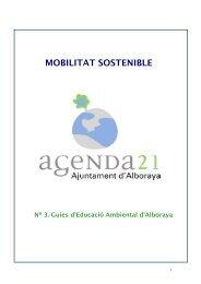 MOBILITAT SOSTENIBLE - Alboraya
