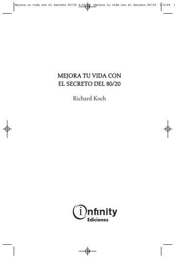 MEJORA TU VIDA CON EL SECRETO DEL 80/20 ... - Ediciona