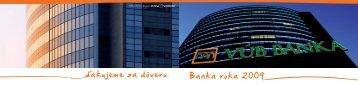 Vub letak banke - VÚB banka