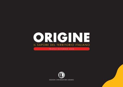 464-11 ORIGINE progr 2008.indd - L'Informatore Agrario