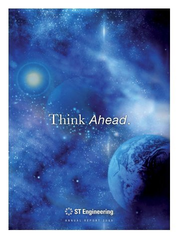 Think Ahead. - Singapore Technologies Engineering