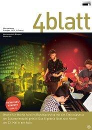 4blatt Nr. 52 - Kantonsschule Büelrain, Winterthur