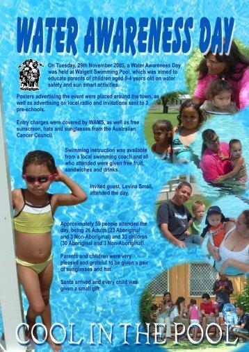 Water Awareness Flyer - WAMS