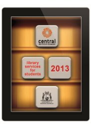 Download the 2013 Library Student Guide
