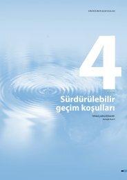 4. Bölüm – Sürdürülebilir geçim koşulları