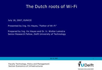 Vic Hayes: The Dutch Roots of Wi-Fi