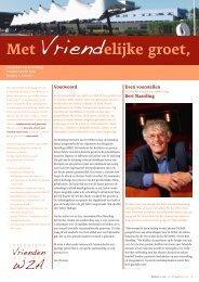 Nieuwsbrief Vrienden, najaar 2010 - Wilhelmina Ziekenhuis Assen