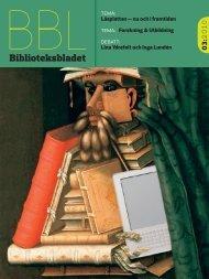 Beställ redan nu p www.hegas.se. - Biblioteksbladet