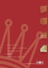 603095 Einlageblätter E - MM Holz
