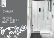 i-shower shower enclosures and trays - Sussex Plumbing Supplies